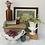 Thumbnail: Vintage Framed Rose Tapestry