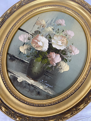 Pretty Vintage Oil Painting