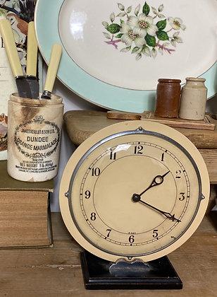 Deco Mantle Clock
