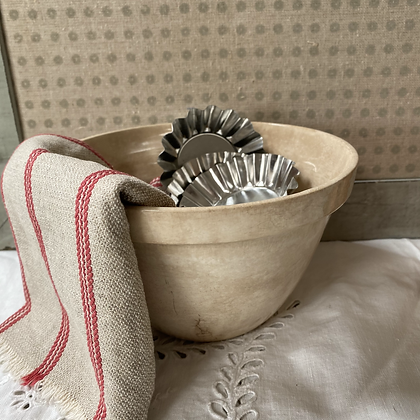 Vintage Ironstone Pudding Bowl