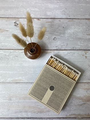 Rain Letterpress Luxury Matches