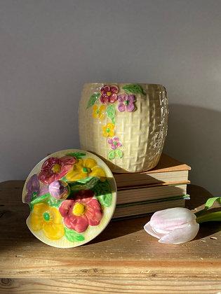 Wade Heath Flower Preserve Pot