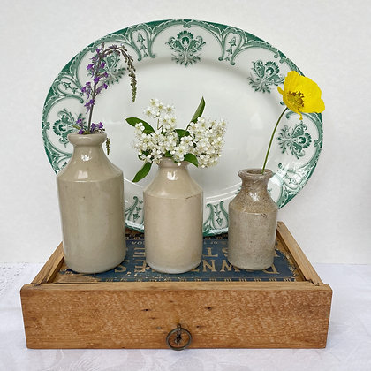 Green Thistle English Platter