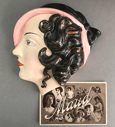 1930s Deco Wall Hanging 'Maud'