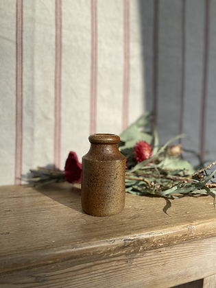 Victorian Stoneware Mini Ink Pot