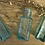 Thumbnail: Vintage Glass Bottle Trio