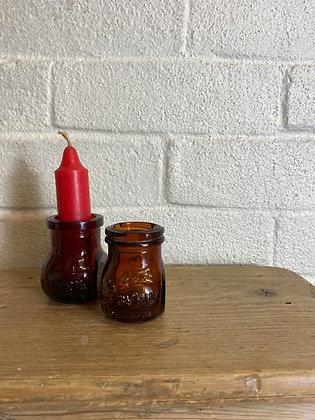 2 oz Amber Bovril Jars