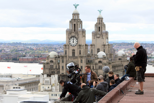 BBC Good Cop filming in Liverpool