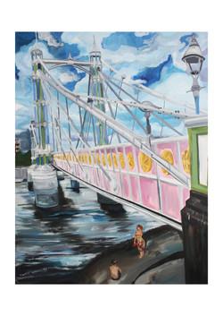 Battersea rendevous under Albert Bridge