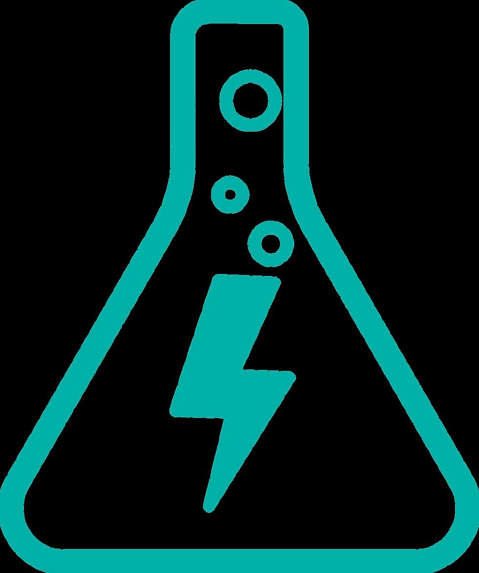 En esta imagen podemos ver una probeta que representa la innovación y la rápida experimentación que se alcanza con Prosei.