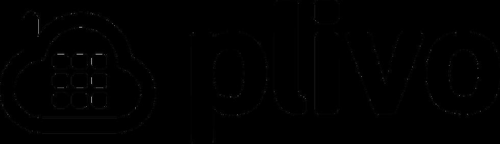 En la imagen se ve el icono de Plivo, la cual es una plataforma de comunicaciones por voz en la nube.