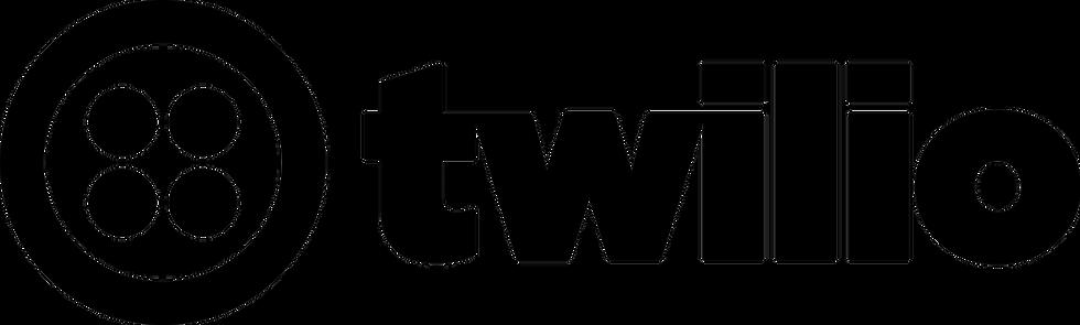 En la imagen vemos el icono de Twilio es una compañía que ofrece una plataforma de comunicaciones y servicios en la nube.