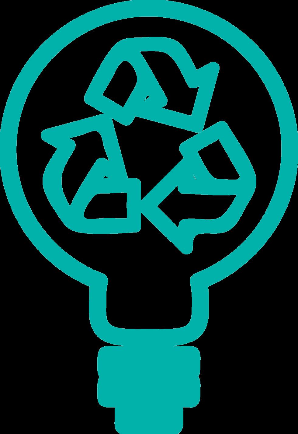 En esta imagen podemos ver una bombilla con unas flechas que representa la renovación constante de las propuestas de valor para los clientes de Prosei.