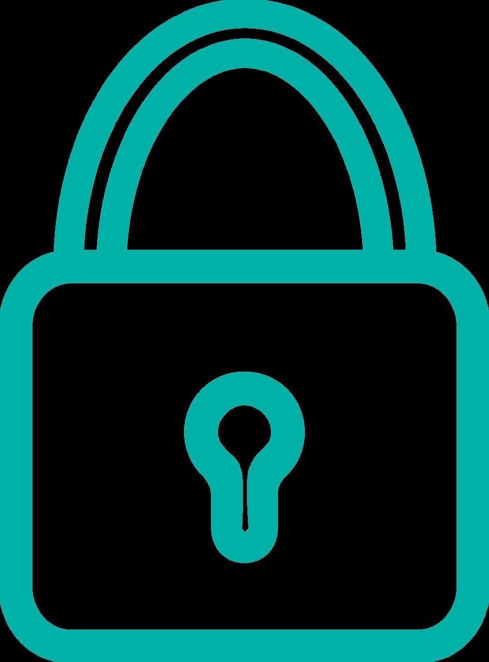 La seguridad está representada a través de un candado, ya que Prosei trabaja mucho en este punto con su equipo de informáticos.