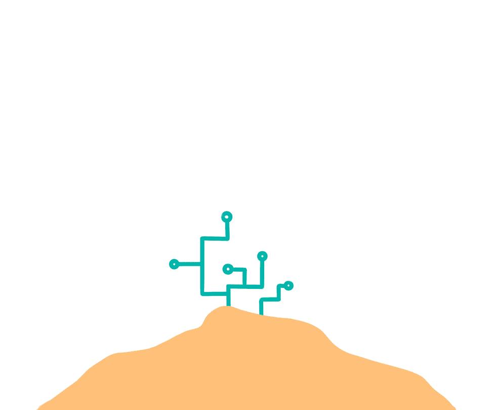 En la imagen se ve que el segundo paso de Prosei es ayudar a digitalizar tu negocio de una manera sencilla y rápida. Crece con Prosei.
