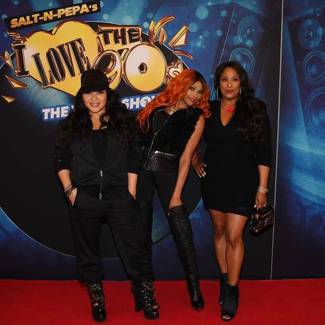 Salt-N-Pepa on the Red Carpet @ I Love The 90s Vegas Residency