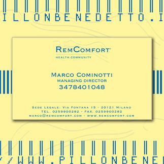 Remcomfort Biglietto Da Visita