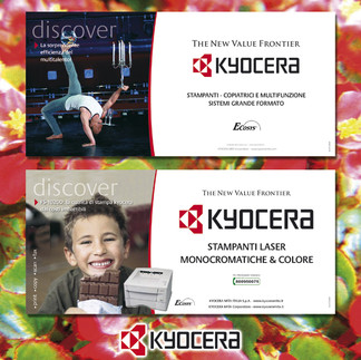 Kyocera Campagna Affissione