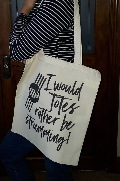 Hand finished tote Bag