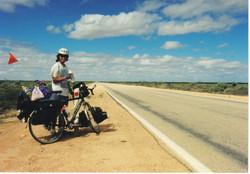 Crossing the Nullarbor Plain 1995