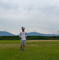 Running in Tondabayashi