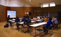 Lecture at Futaba Gakuen