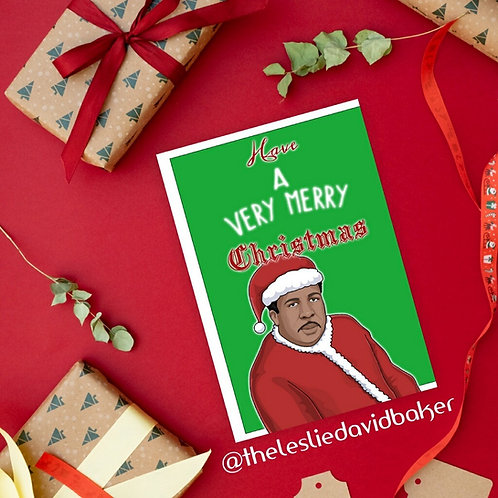 Autographed Christmas Postcard