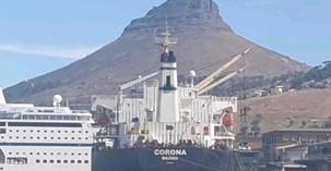 COVID-19: Le navire dénommé M/V Corona avait à son bord un marin testé positif.