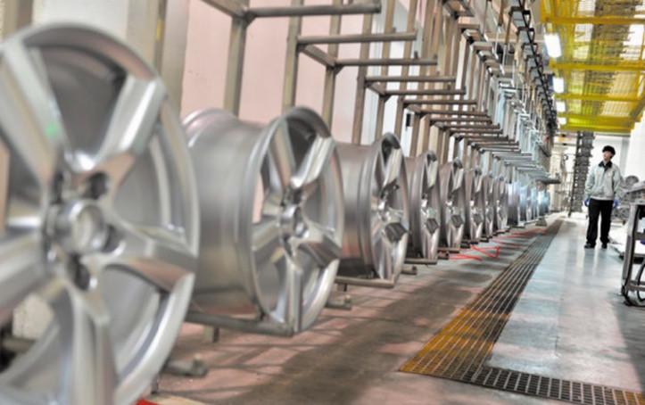 Usine de frabrication de Jantes aluminium / Image : Northafricapost