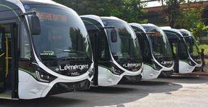 Mobilité /Côte d'ivoire: 50 bus à gaz naturel réceptionnés à Abidjan pour faciliter la mobilité