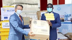 Côte d'Ivoire: L'UE apporte un soutien matériel au ports ivoiriens (COVID19)
