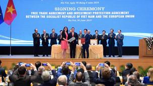 Commerce/Monde: Le Vietnam et l'UE signent un nouveau départ commercial ce jour