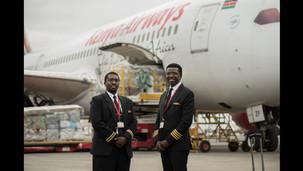 Kenya airways : Pour son dernier vol, le copilote est son fils ! L'incroyable histoire des MARANGA