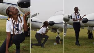 Réussite/Ghana:  Esi Swatson, pilote de ligne à 21 ans !