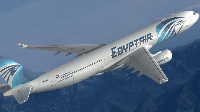Image Egypt Air : Source  Le360 Afrique
