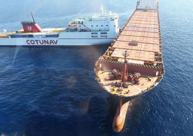 Collision bateaux Ulysse et VIRGINI