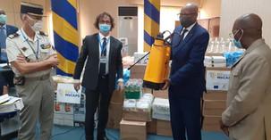 TOGO: L'UE appuie le Portde Lomé dans la lutte contre la COVID19