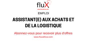 Emploi: Assistant(e) aux Achats et de la Logistique