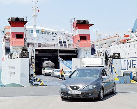 Port de Tanger Med   source image : lematin.ma