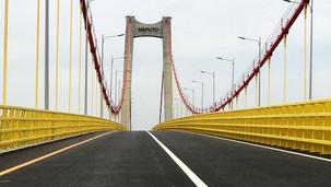 Transport routier/Mozambique: le plus grand pont suspendu d'Afrique, inauguré à Maputo