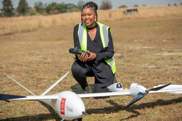 Drone Afrique du Sud .  Image : The Citizen  Flux Africa