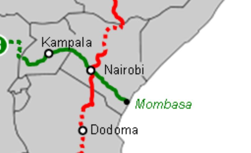 Kampala - Mombassa