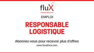 Emploi: Responsable logistique, Dakar Sénégal