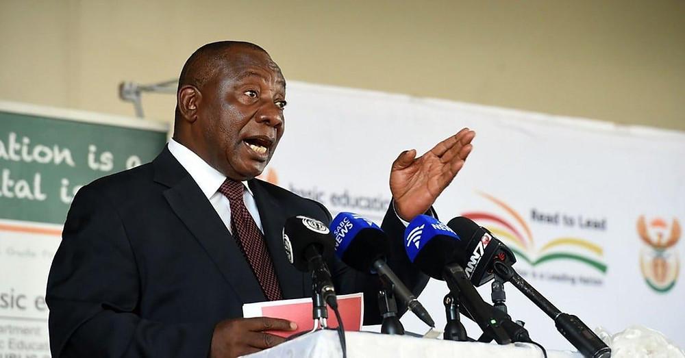 South Africa -  President RAMAPHOSA