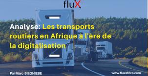 Analyse: Les transports routiers en Afrique à l'ère de la digitalisation