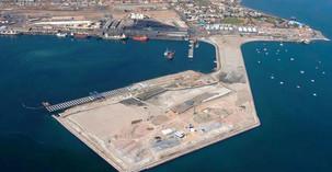 Transport maritime: Namibie - Un terminal à conteneur flambant neuf au port de Walvis Bay.