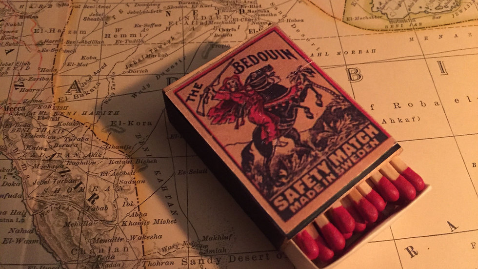 Vintage Matches - The Bedouin