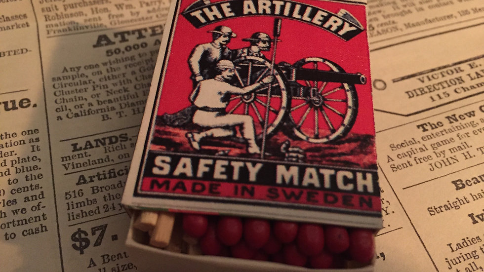 Vintage Matches - The Artillery