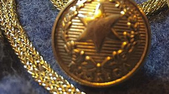 Florida - Confederate Cuff Button