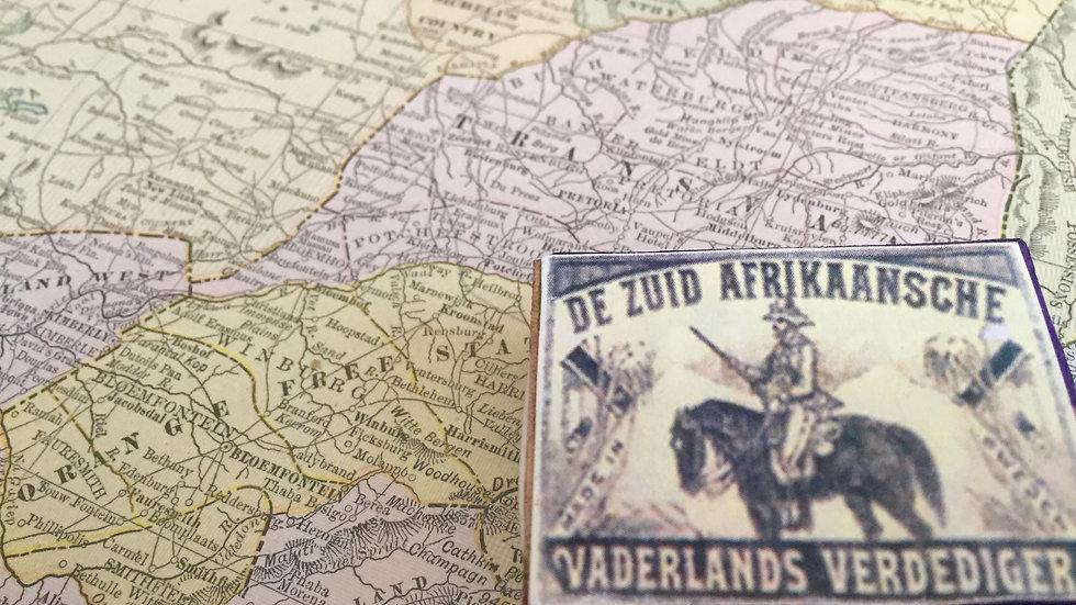 """""""De Zuid Afrikaansche"""" Matches - Boer"""